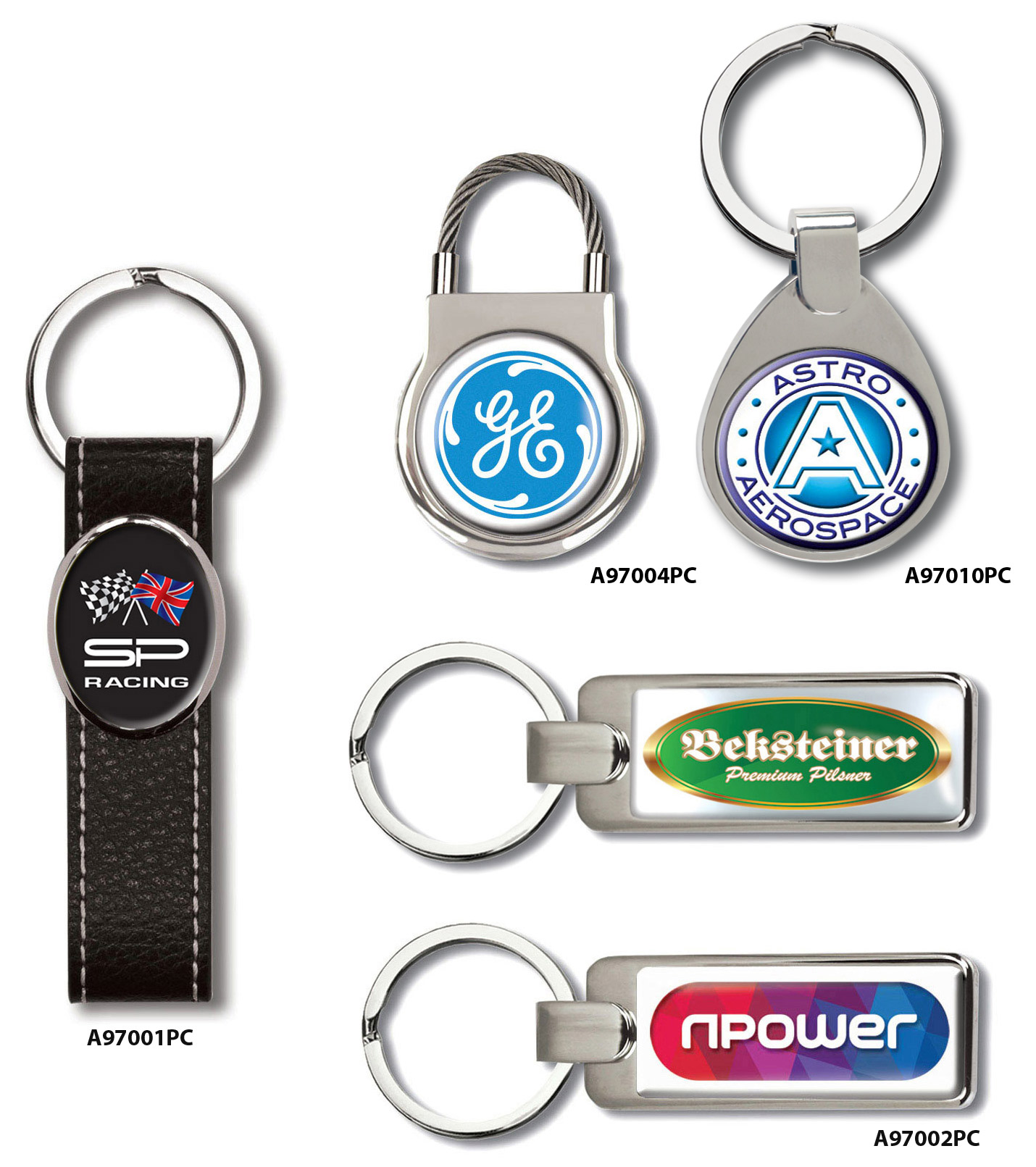 Elite keyrings polycrown keyrings 4 business home reheart Images